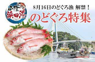 山陰浜田港 のどぐろ特集!