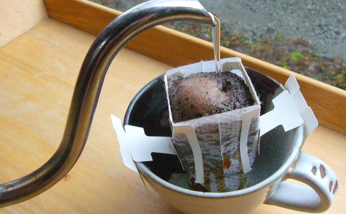 珈琲セット(ドリップバッグとカフェオレベース)